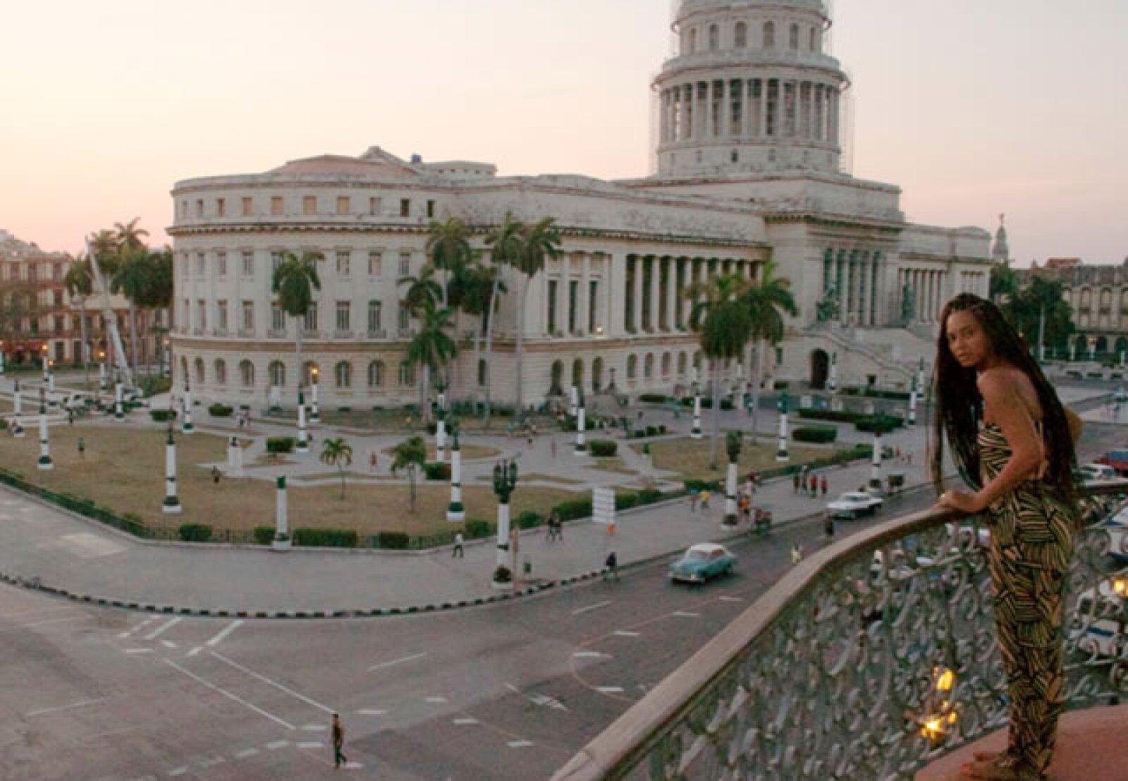Beyoncé en Cuba.