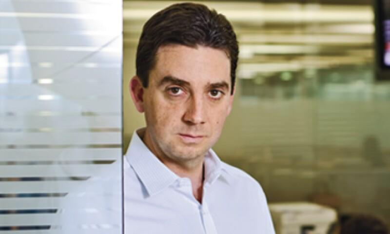 Alonso Madero, a cargo de los fondos de Actinver. (Foto: Ramón Sánchez Belmont)