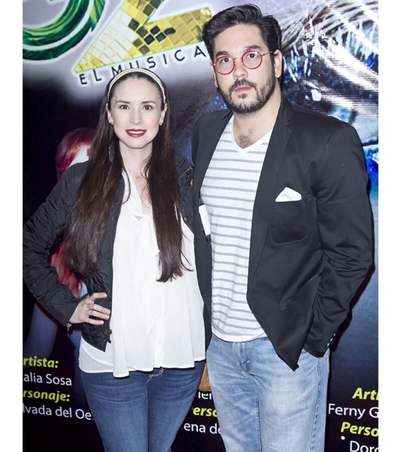 La actriz y el productor Pedro Ortiz de Pinedo dieron la bienvenida este fin de semana a la pequeña Regina, su primera hija juntos.
