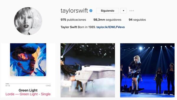 IG Taylor Swift