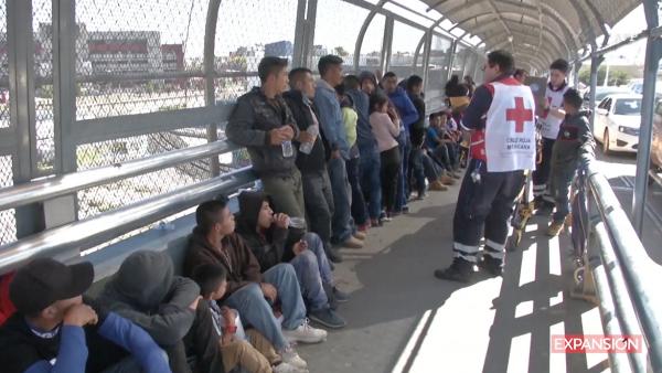 México pide a Estados Unidos que respete su política migratoria