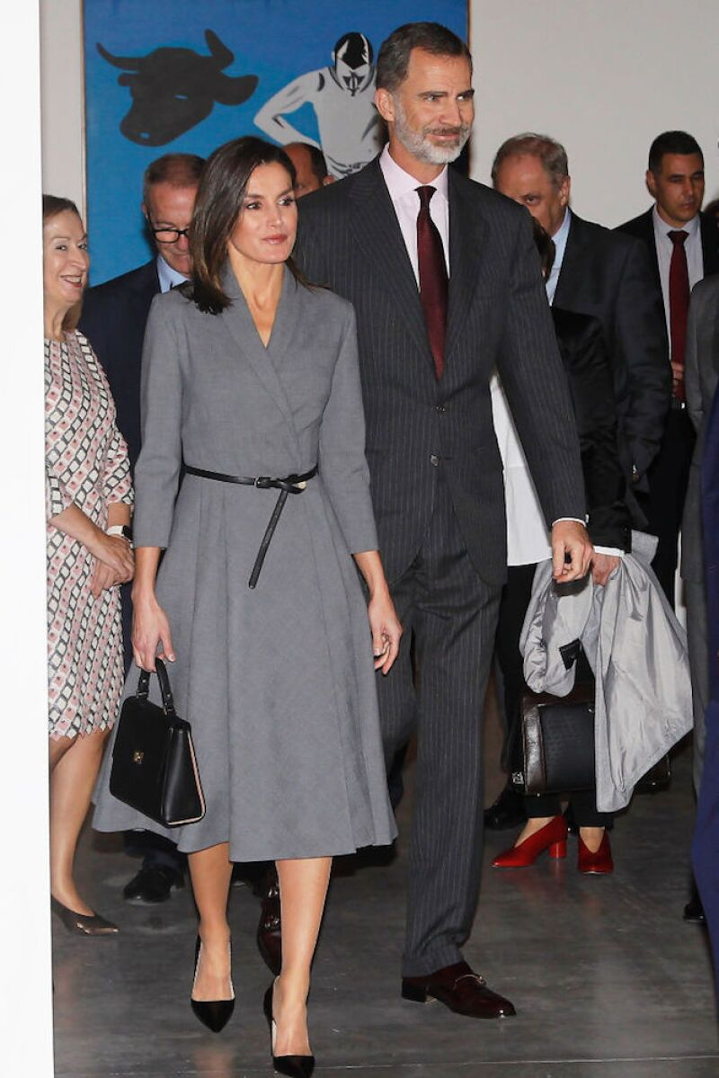 Spanish Royals Inaugurate An Exhibition To Commemorate The Anniversary Of The Democracy