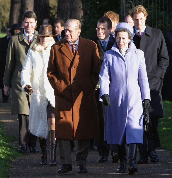 GBR: Royal Family Attend Christmas Day Service At Sandringham