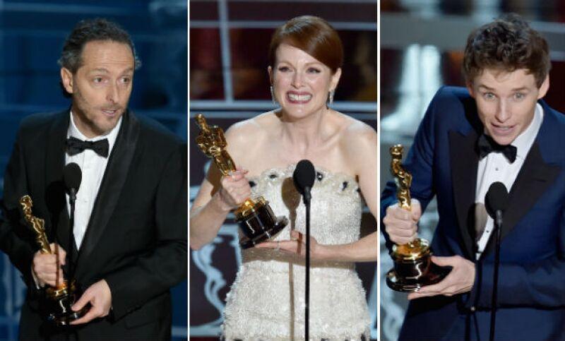 Alejandro González Iñárritu, Julianne Moore y Eddie Redmayne se lanzaron como algunos de los favoritos de la noche que celebra lo mejor del cine a nivel mundial.
