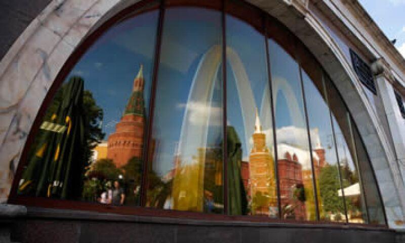 McDonald's considera que Rusia es uno de sus principales mercados.(Foto: Reuters)