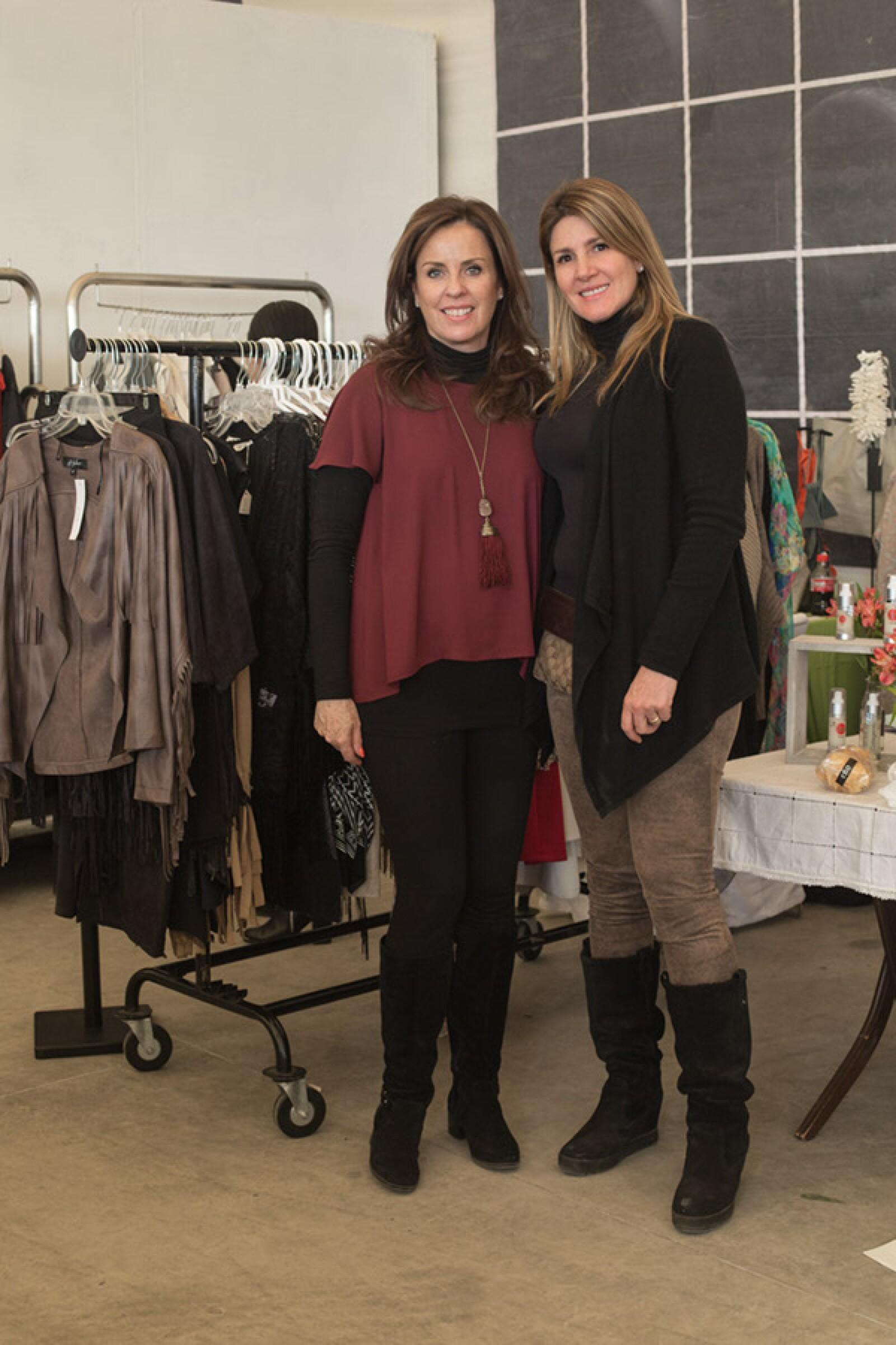Mónica Dunan y María Fernanda de Mondragón