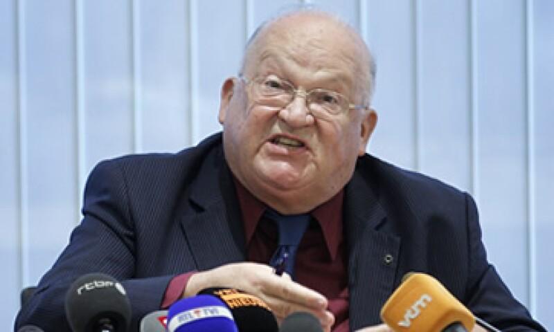 Jean-Luc Dehaene se exculpó de los problemas del banco que, a su juicio, fueron causados por la inesperada crisis de la zona del euro. (Foto: Reuters)