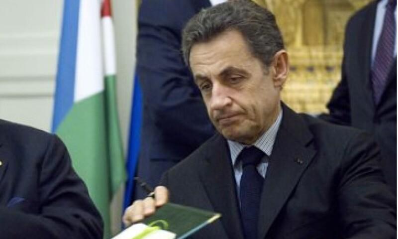 El presidente francés Nicolas Sarkozy busca convencer a los votantes de que es la mejor persona para liderar a la segunda mayor economía de la zona euro. (Foto: Reuters)