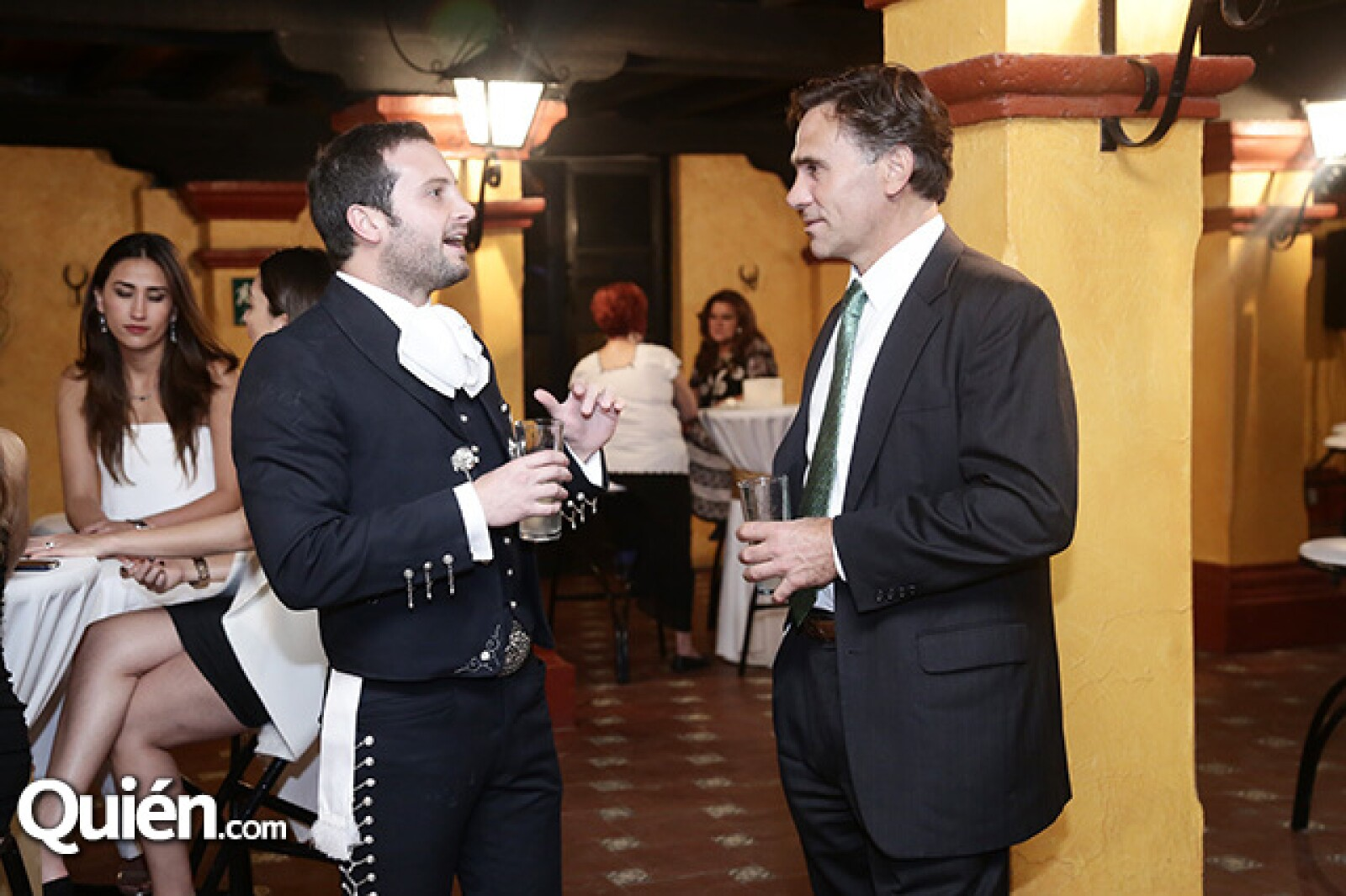 José Luis Colín y Paul Roberti