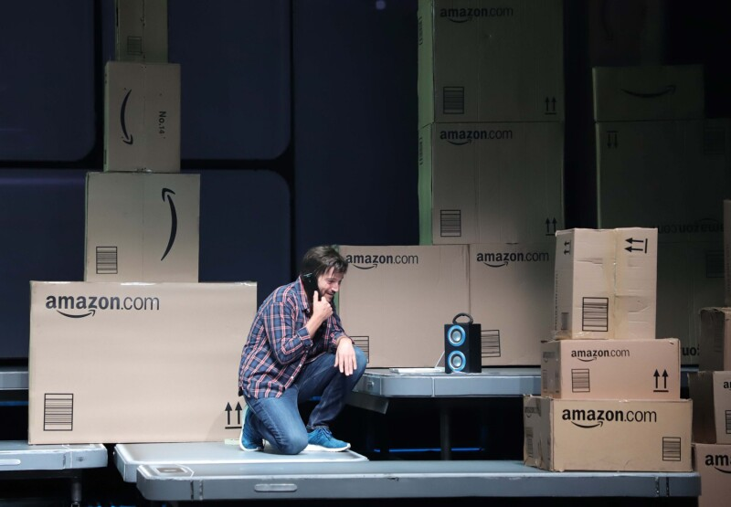 """Diego Luna en su debut en la obra """"Privacidad"""""""