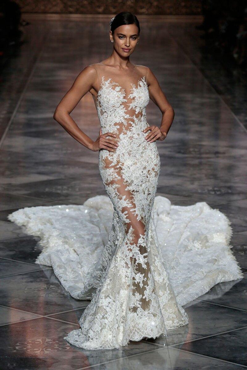 Cuando se encontraba con Cristiano, no descartaba vestirse de novia en la vida real.