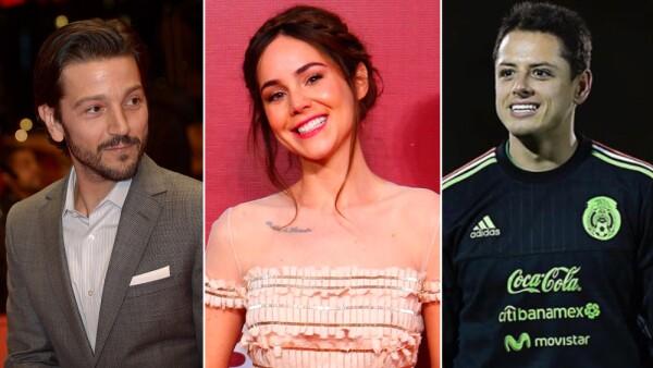 Diego Luna, Camila Sodi, Chicharito