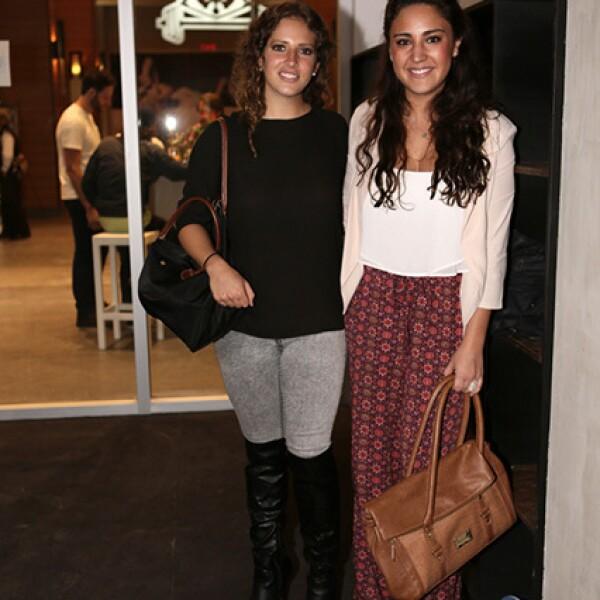 Diana de Rosen y Ana Paula Sota