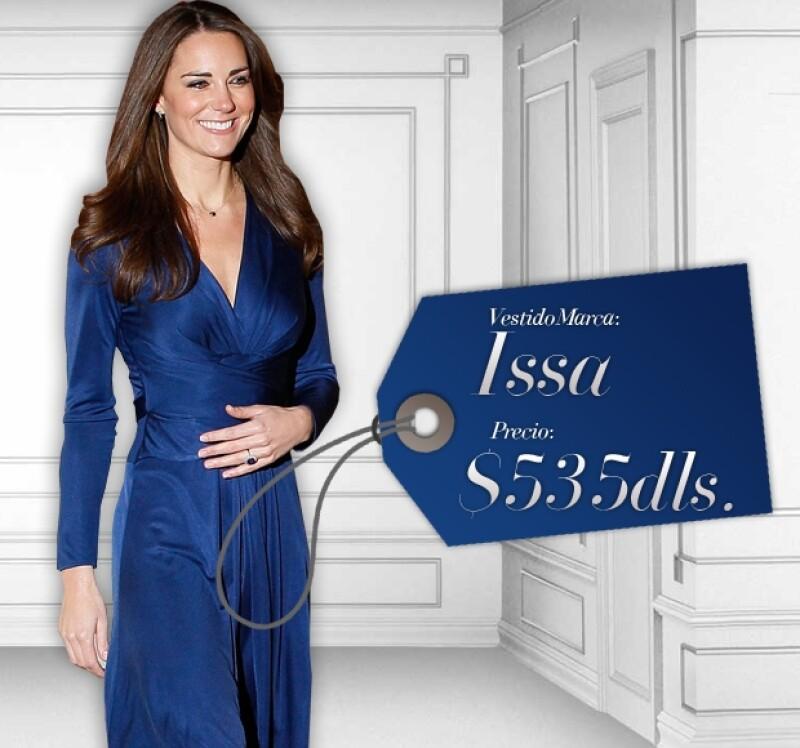 Este vestido de Issa fue un completo éxito en las tiendas.