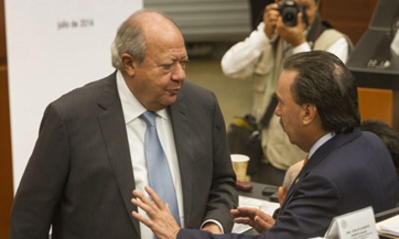 El líder del sindicato petrolero, Carlos Romero Deschamps, regaló un Ferrari Enzo de edición limitada a su hijo José Carlos Romero, según reportes de prensa.  (Foto: Cuartoscuro)