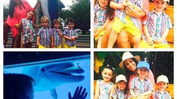 En un post publicado en su perfil de Instagram, la guapa ojiazul reveló cuál de sus hijos resulta ser su preferido.