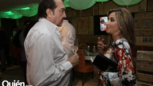 César Yunes y Alejandra de la Fuente