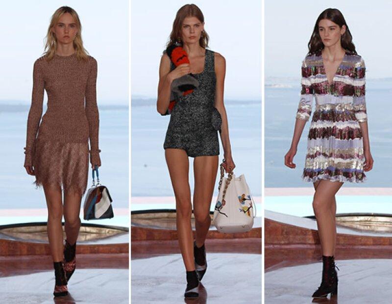 Dior presentó Crucero 2016 en la casa de Pierre Cardin en Cannes.