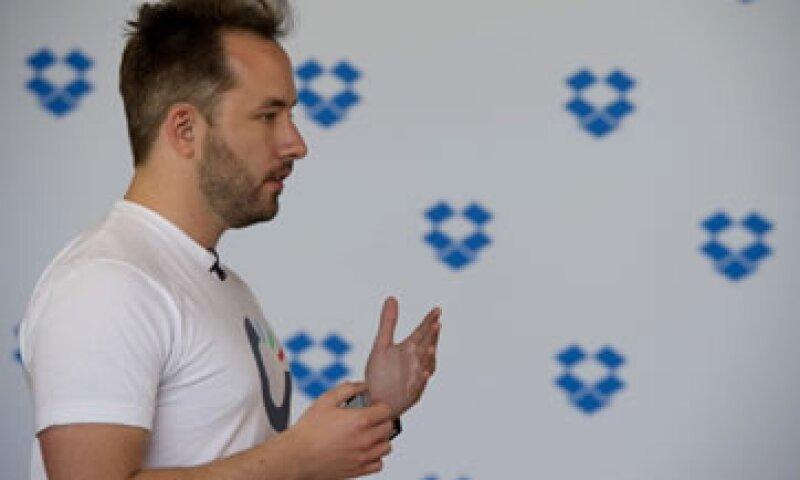 El CEO de Dropbox, Drew Houston, dice que la terapia le ayudó a enfrentar todos los problemas de la empresa de frente. (Foto: Getty Images)