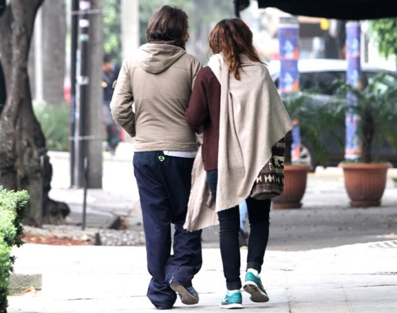Aunque ninguno ha confirmado o negado que mantengan una relación, se veían felices juntos.