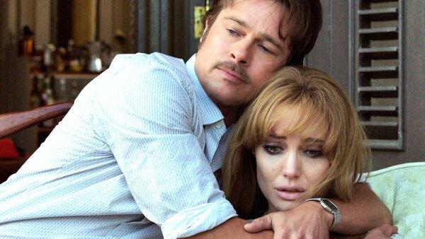 Brad Pitt y Angelina Jolie en 'By The Sea'.