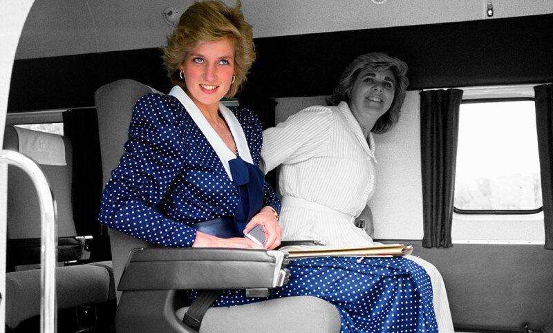 Kate-middleton-Princess-diana-Vestido-Dots-Retrato-Royals