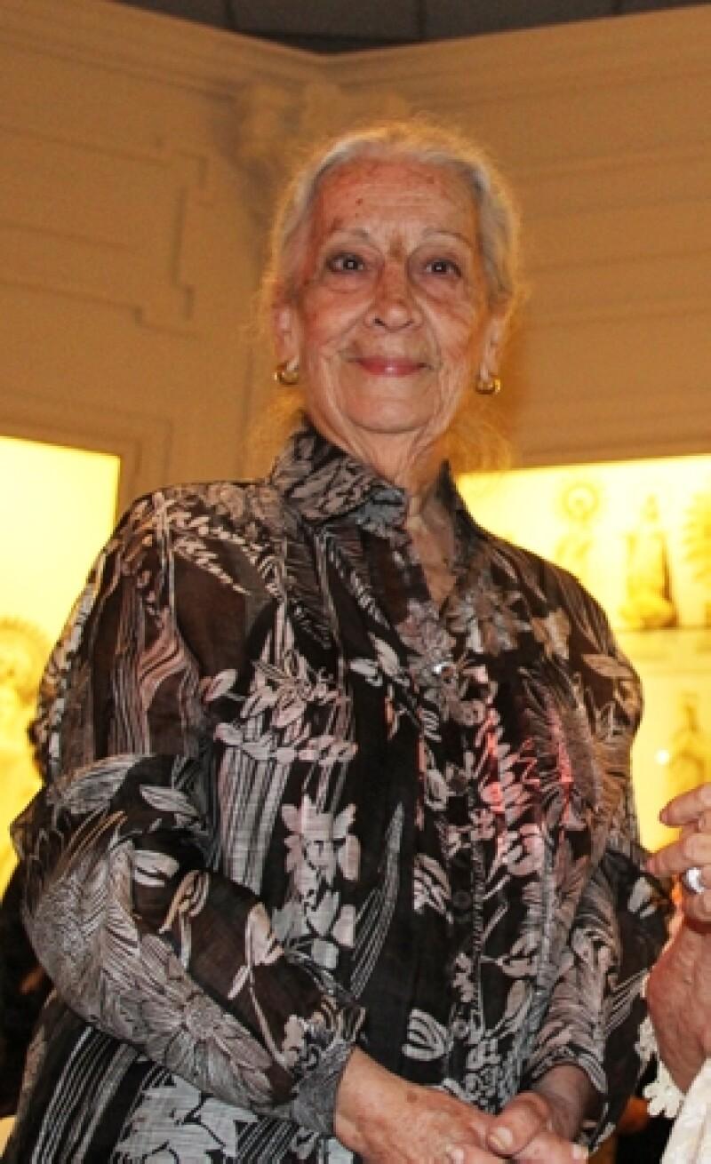 Un vacío difícil de llenar en el mundo empresarial y de las artes, es el que deja una de las más importantes coleccionistas de arte y promotora cultural de nuestro país.