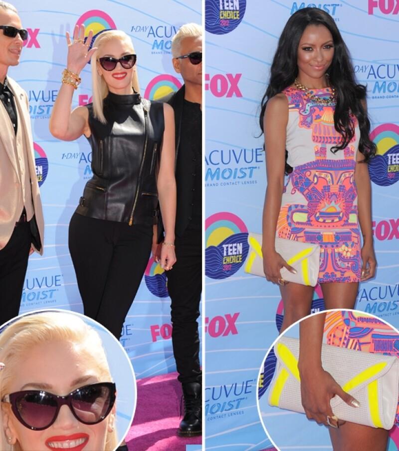 Un desfile de vanguardistas y sexys cortes desfilaron por la alfombra morada de los Teen Choice Awards.