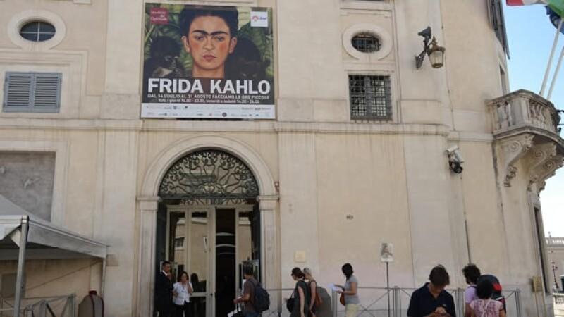 Frida Kahlo en Roma, exposición