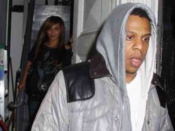 Beyoncé y Jay-Z acompañaron a Rihanna el fin de semana.