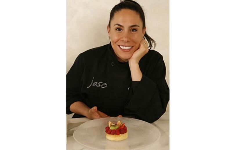 La chef compartió la receta de la tarta de frutas para la época navideña.