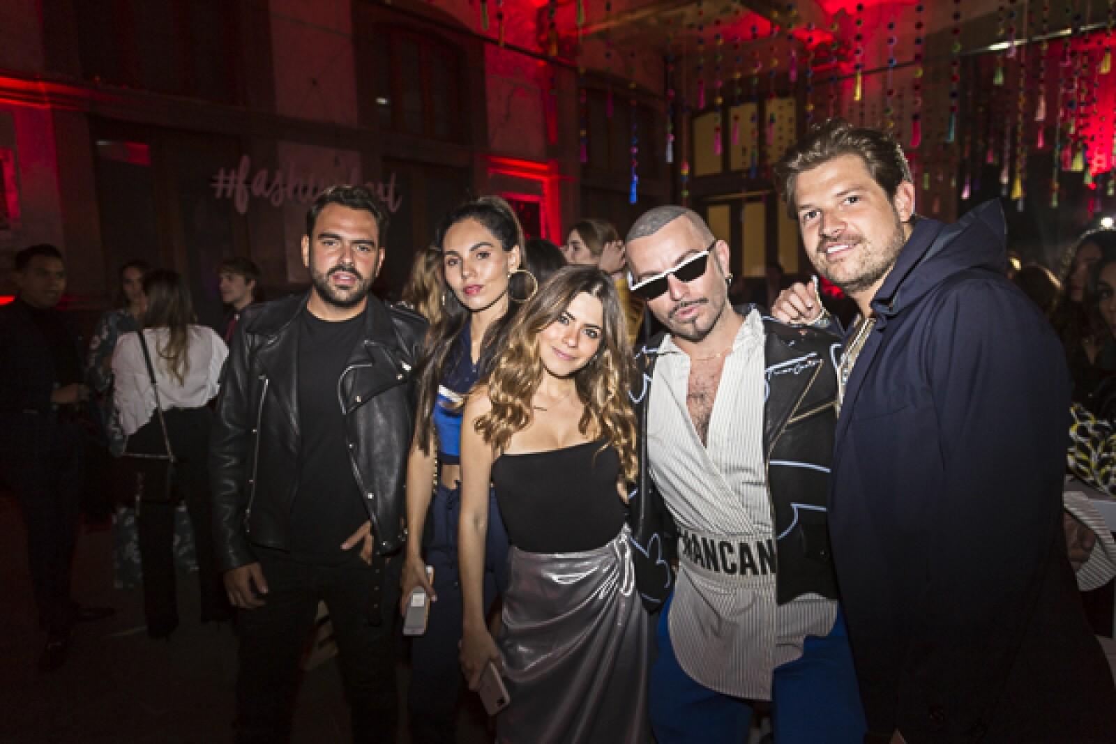 Alfonso de Bustos, Haru Escarcega, Karina Torres, Mancandy, Fern