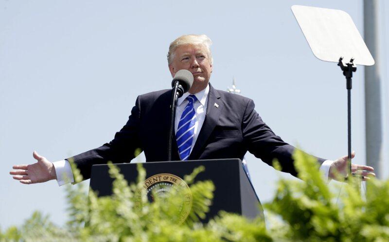 Trump manos