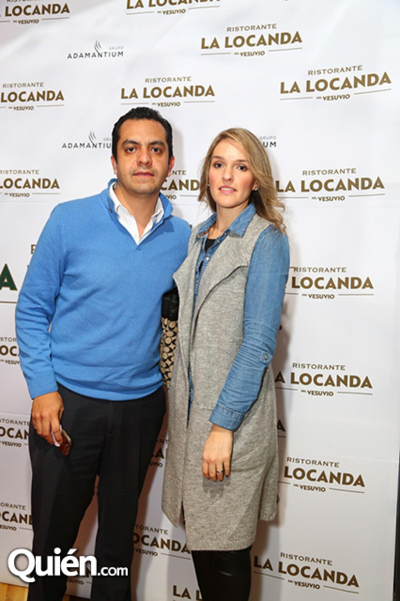 Andrés Guerra y Alejandra Ramos