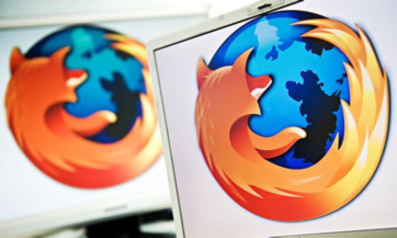 Firefox tiene un 10.4% del mercado de los navegadores de Internet. (Foto: AFP )