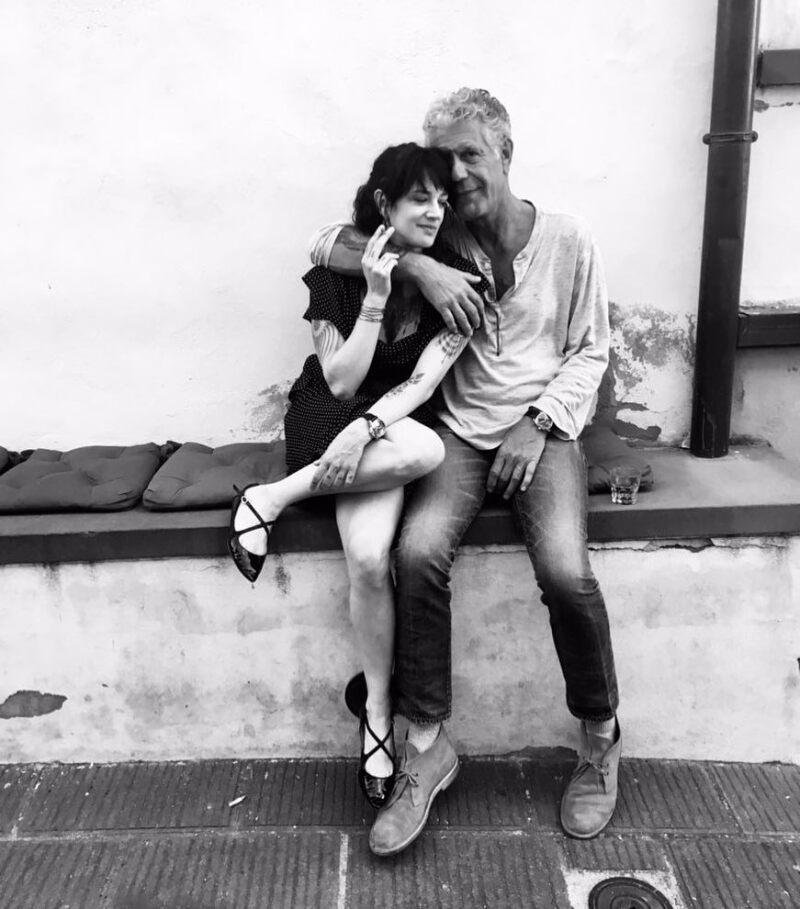 Anthony Bourdain y Asia Argento