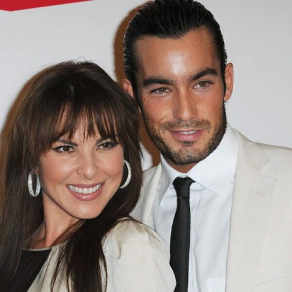 Mientras Aarón grababa la telenovela `Teresa´ en México; Kate grababa `La reina del Sur´ en colombia, Estados Unidos y España.