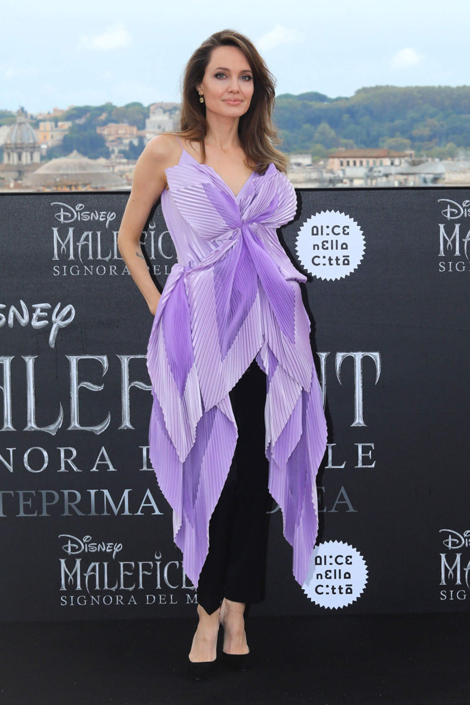 'Maleficent - Mistress Of Evil' film photocall, Rome, Italy - 07 Oct 2019