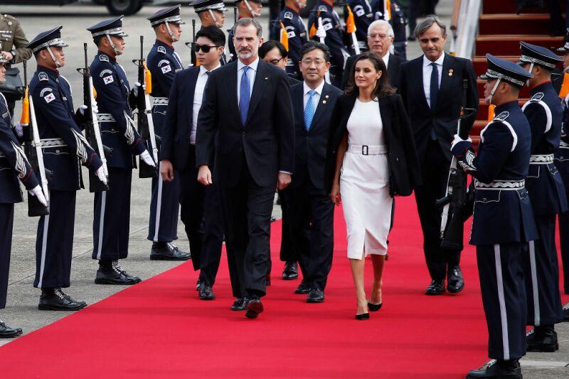 Rey Felipe VI y Letizia de España