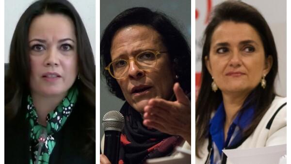 Candidatas a la Corte