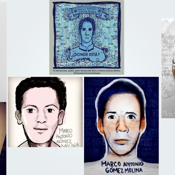 Marco Antonio Gomez Ayotzinapa