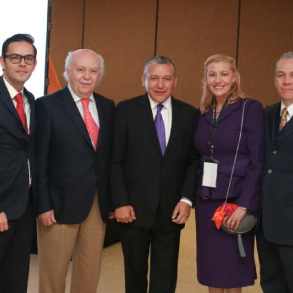 Abelardo de la Torre, José Luis Mier, Reynol Neyra, Luz Dávalos y Fernando Solís Cámara.