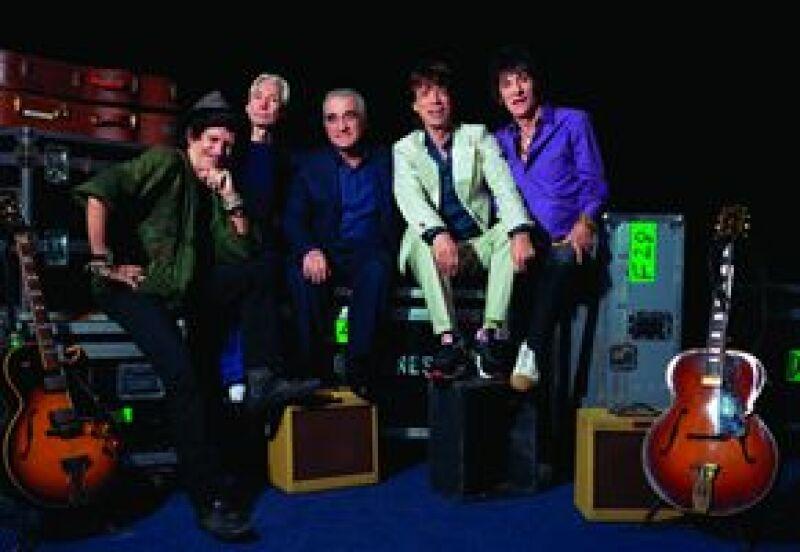 Martin Scorsese retrata la vida cotidiana de la banda en un documental que muestra el mundo de los rockeros.