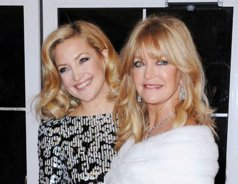 Kate Hudson y su madre Goldie son grandes nombres de Hollywood.