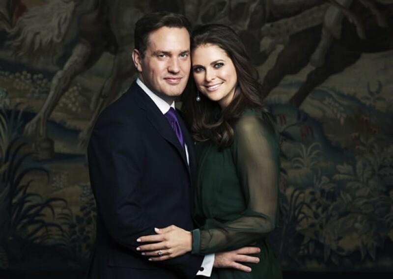 Magdalena y Chris O´Neill se conocieron en 2011 en Nueva York por unos amigos en común.