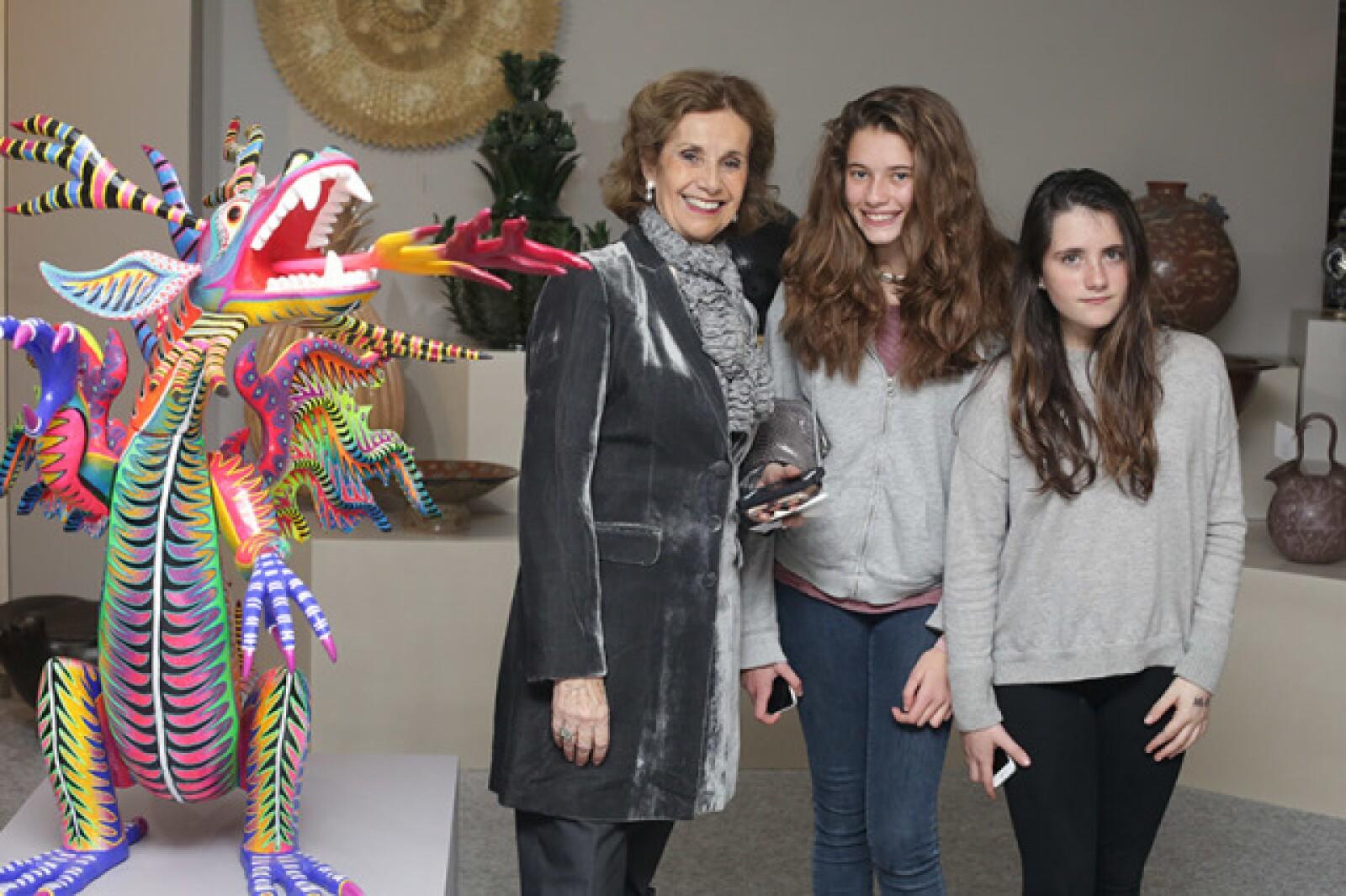 Natalia Loaeza de Lebretón,Inés Lebretón y Marina Livas