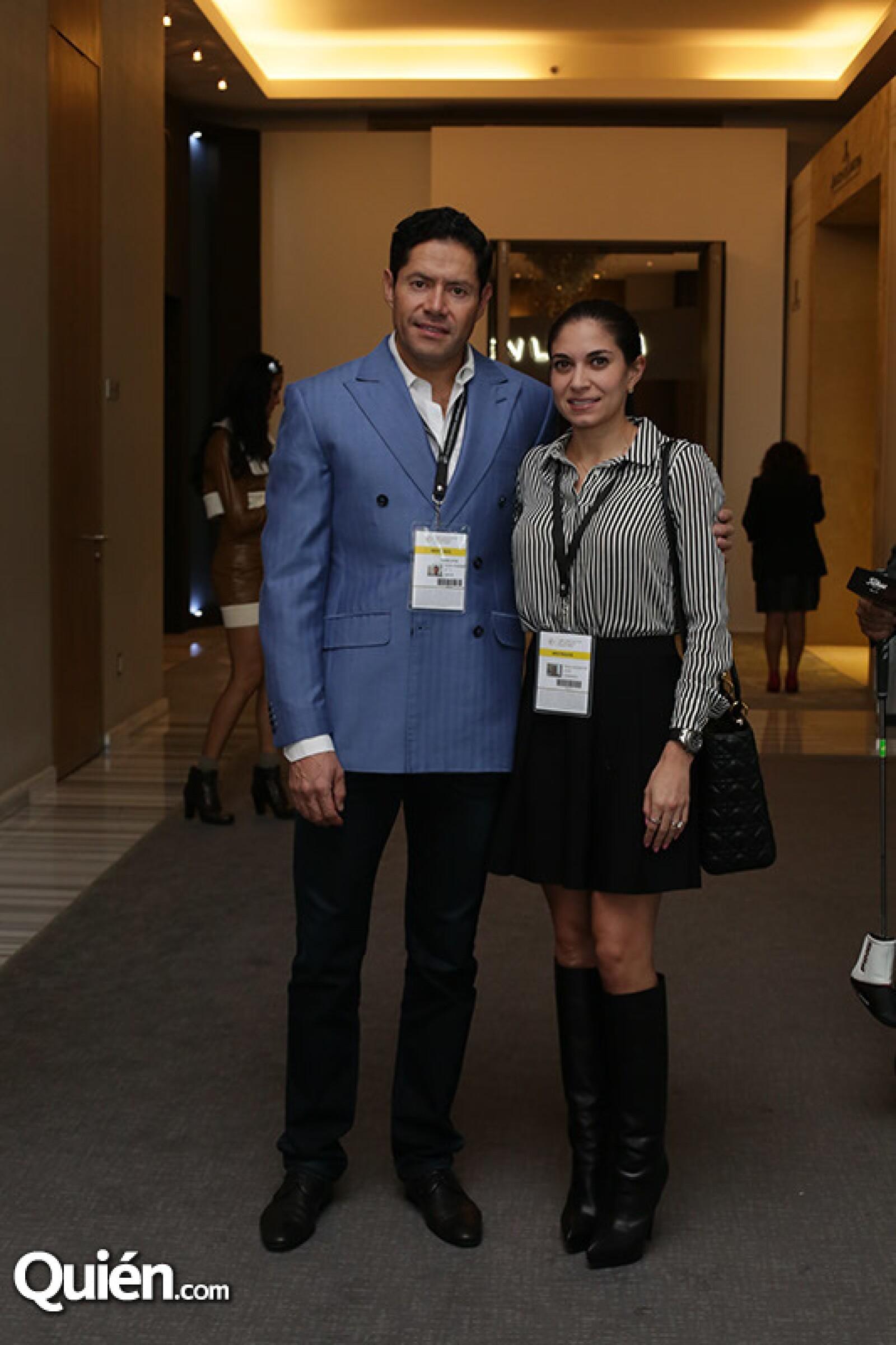 Edgar Nava y Paola Letayf