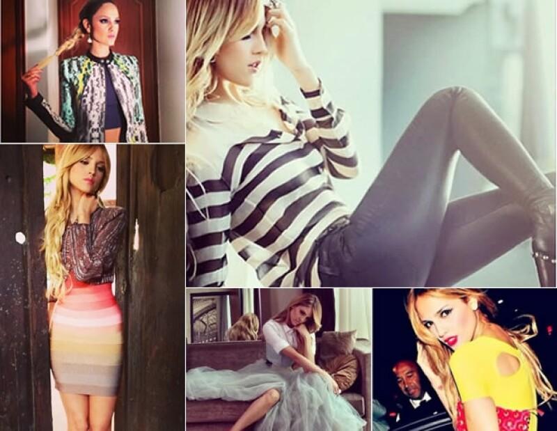 No sólo es actriz, Eiza nos ha demostrado que también es toda una fashionista.