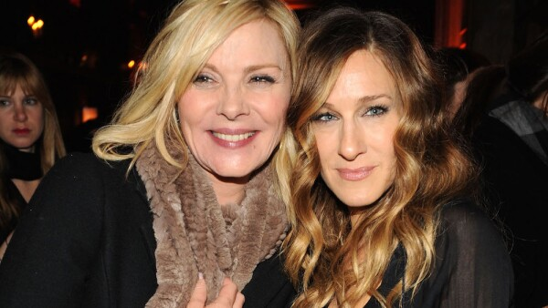 Kim Cattrall and Sarah Jessica Parker