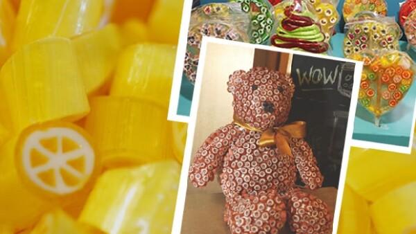 Dentro de su tienda de dulces, Isaac Bessudo prepara para sus clientes dulces creaciones dignas del paladar más exigente.